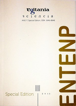 Revista Egitania Sciencia - Special Edition (ENTENP)